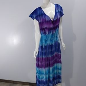 J gee tie - dyed dress sz 3x